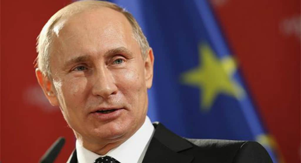 Vladimir Putin flag