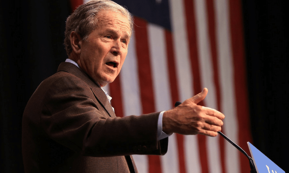 the secret campaign of president bushs Bush's secret government  fresh from a meeting with president  does the information fall within a class that should presumptively be kept secret.
